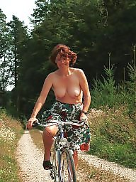 Woman, Bicycle