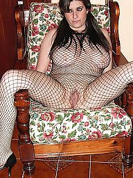 Fishnet, Milf stockings, Latinas, Latin milf