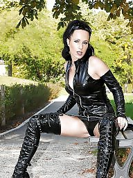 Latex, Leather, Pvc, Mature leather, Mature amateur, Mature latex