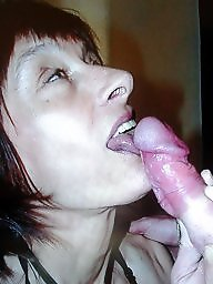 Mature blowjob, Blow
