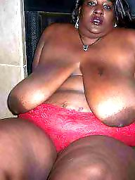 Ebony bbw, Big black, Ebony boobs