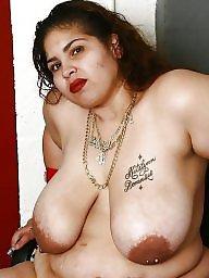 Piercing, Pierced, Nipples, Big nipples, Pierced nipples, Nipple piercing
