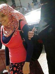 Egypt, Bitch, Street, Big tits voyeur