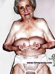 Nylons, Granny nylon, Nylon granny, Granny nylons