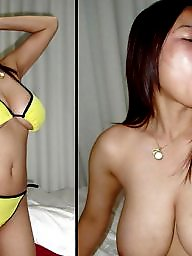 Before and after, Before, Asian blowjob