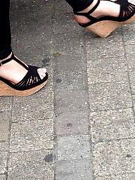 Feet, Voyeur, Public