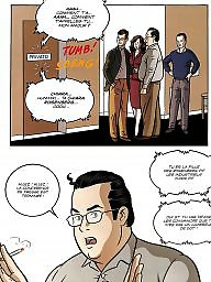 Double, Bdsm cartoon, Cartoon bdsm