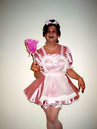 Maid, Sissy, Pink, Maids