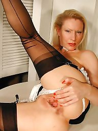 Older, Maid, Nylon mature, Mature nylon, Vintage mature, Older mature