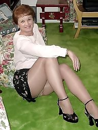 Mature pantyhose, Granny pantyhose, Granny stockings, Pantyhose, Stocking, Granny stocking