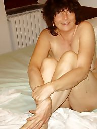 Posing, Husband, Nude mature