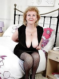 Piercing, Pierced, Granny stockings, Mature stockings, Mature stocking, Pussy