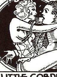 Vintage, Cartoons, Vintage cartoons, Vintage amateur, Comix
