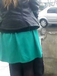 Nylon, Skirt, Hidden, Spy, Skirts, Romanian