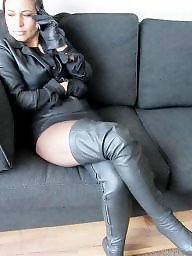 Latex, Boots, Pvc, Leather, Boot, Mature leather