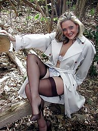 Woods, Upskirt stockings, Legs, Leg