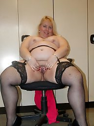 Mature, Piercing, Pierced, Fat mature, Cunt, Fat bbw