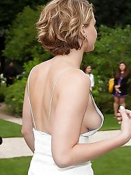 Celebs, Celeb, Public boobs