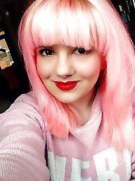 Hair, Pink, Mature want, Mature faces, Mature face