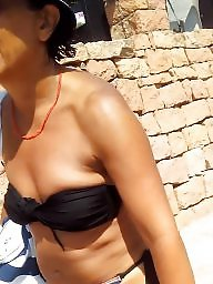 Young, Mature beach, Ass mature, Young tits, Beach mature, Mature young