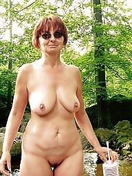 Nature, Natural big boob, Mature boobs