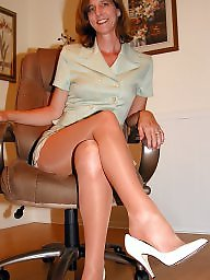 Nylon, Mature nylon, Nylon mature, Mature nylons, Nylon stockings