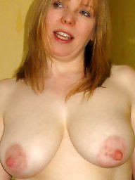 Stockings, Stocking, Uk milf, Redhead milf, Milf stocking, Redhead tits