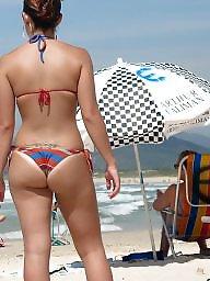 Bikini, Beach, Beach ass, Amateur bikini, Bikinis, Ass beach