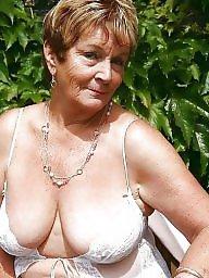 Amateur mature, Mature boob