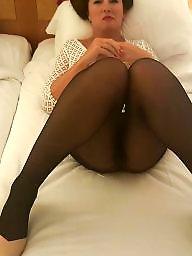 Tight, Tights, Wife flashing, Flashing stockings, Stocking milf, Milf flashing