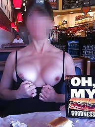 Public flashing, Public flash, Eating