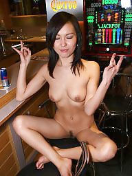 Club, Home, Asian home, Asian babe