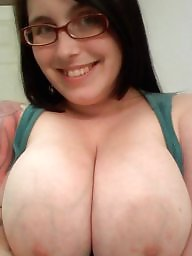 Glasses, Big tits