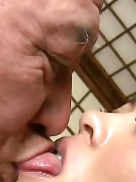 Wife, Old man, Erotic, Man, Pornstar, Asian tits
