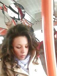Teens, Spy, Bus, Romanian, Spy cam, Hidden cam