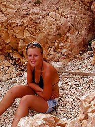Beach, Teen beach, Russian teen, Public teen, Beach amateur