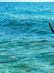 Redhead, Beach, Friend