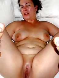 Fat, Mom, Spread, Spreading, Bbw mom, Mature spreading