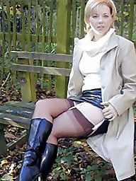 Outdoor, Lady, Nylon, Outdoors, Leg, Show