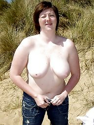 Big boobs, Mature flashing, Mature big tits, Outside, Mature flash, Mature boobs