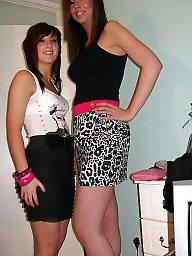 Upskirt, British, British teen, Caroline, British teens, Teen upskirt