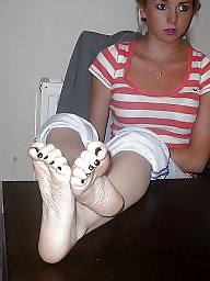 Feet, Blonde, Swedish, Teen feet