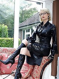 Latex, Pvc, Boots, Leather, Mature boots, Mature latex