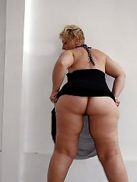 Thick, Butt, Big mature, Blonde mature, Thighs, Mature blonde