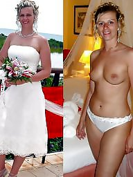Bride, Dressed undressed, Dress, Brides, Undress, Undressing