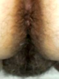 Big ass, Curvy, Hairy ass, My wife, Hairy wife, Big hairy