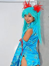 Dress, China, Cosplay, Asian teen, Teen dress