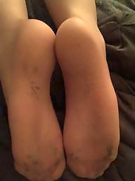 Feet, Extreme, Amateur pantyhose, Amateur feet