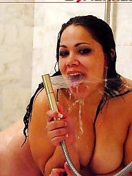 Bbw shower, Bbw asses