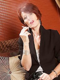 Smoking, Mature smoking, Mature redhead, Redhead mature, Smoking mature, Smoke